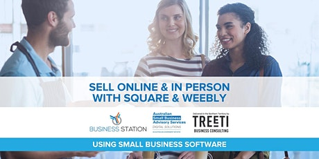 Sell online & in person with Square & Weebly [Darwin] tickets