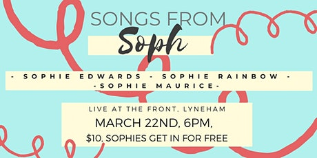 Songs from Sophie tickets