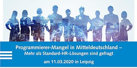 Programmierer-Mangel in Mitteldeutschland Tickets