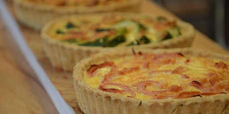 Quiches  &  Salades - Les Déjeuners du Samedi - Au Bar à vin du Quai45. billets