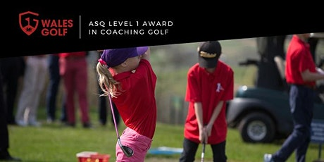 ASQ Level 1 Award in Coaching Golf 2020 tickets
