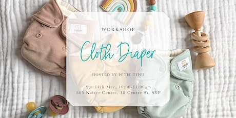 Mar Cloth Diaper Workshop | Petit Tippi tickets