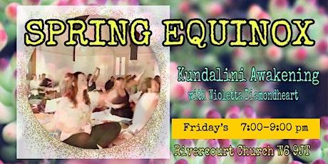 SPRING EQUINOX Kundalini Yoga, Meditation and Gong tickets