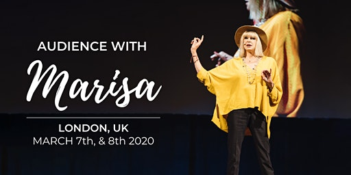 Audience with Marisa in London  - Spend Two TRANSFORMATIVE Days With Marisa