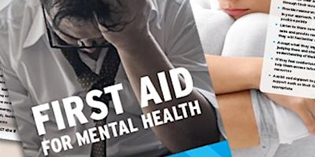 Supervising First Aid For Mental Health Level 3 , 2 day course tickets