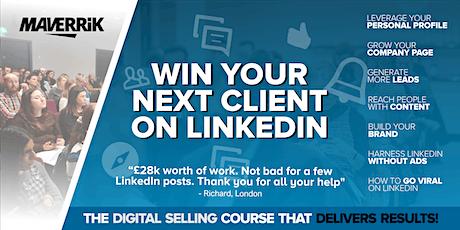 Win your next client on LinkedIn - LISBON - Grow your business on LinkedIn bilhetes