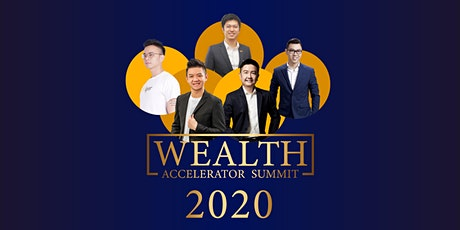 20[Wealth Accelerator Summit]20 tickets