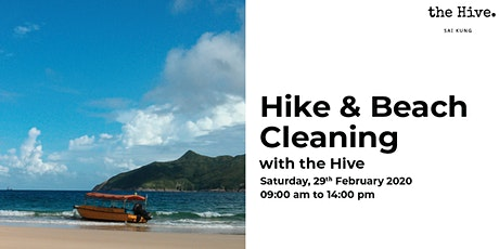 Hike & Beach Cleaning with the Hive tickets