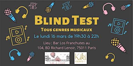 Blind Test billets