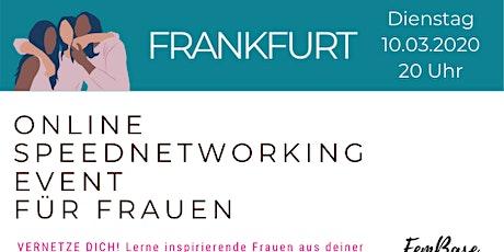 Frankfurt Speednetworking Event für Frauen Tickets