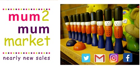 READING'S Mum2mum market - Nearly new sale tickets