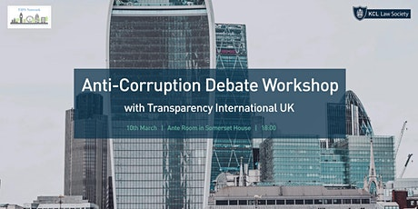 Anti-Corruption Debate Workshop tickets