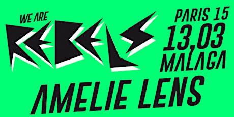 We Are Rebels - Amelie Lens (Malaga) entradas