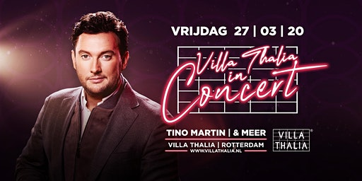 Villa Thalia in Concert: Tino Martin
