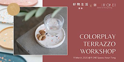 Colorplay Terrazzo Making Workshop 手工水磨石工作坊