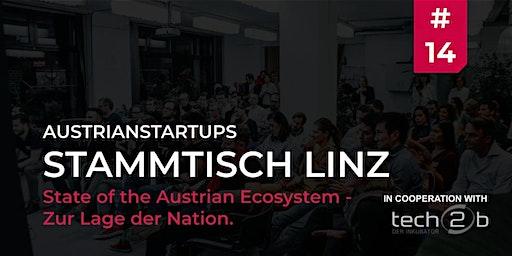 AustrianStartups Stammtisch Linz #14 - State of the Austrian Ecosystem