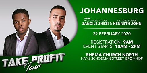 Take Profit Tour - Johannesburg - Session 1