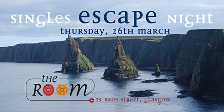 Singles Escape Night at The Room Glasgow tickets