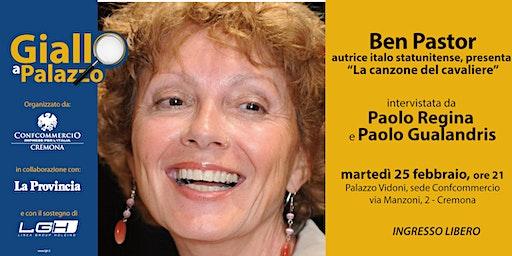 """Giallo a Palazzo -  Ben Pastor presenta """"La canzone del cavaliere"""""""