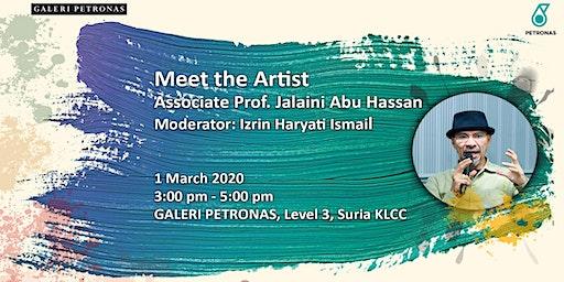 Meet the Artist - Associate Prof Jalaini Abu Hassan