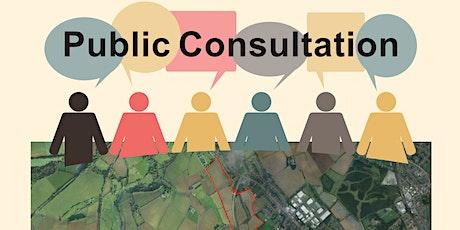 Public Consultation Land at Pleasley Hill Farm, Mansfield tickets