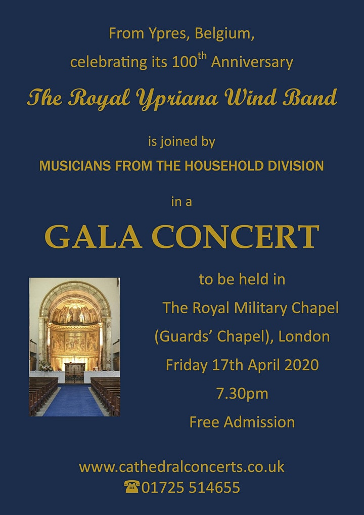 The Royal Ypriana Wind Band in Concert image