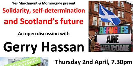 Solidarity, Self-determination, Scotland's Future tickets