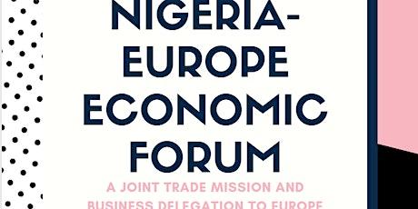 Nigeria Europe Economic Forum tickets