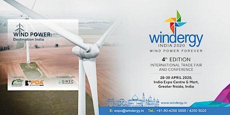 Windergy India 2020 tickets