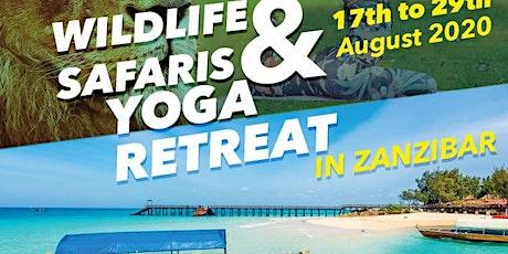 WILDLIFE SAFARI & YOGA RETREAT IN ZANZIBAR tickets