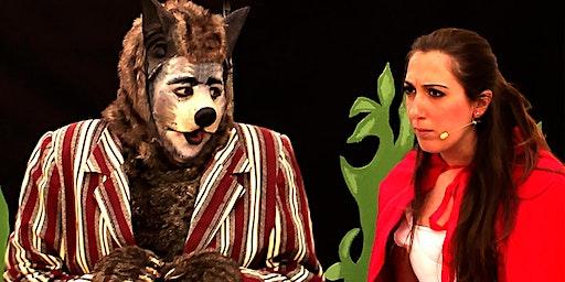 Somnis Teatre CAPERUCITA ROJA Y EL LOBO VEGETARIANO (CULTURA EN BARRIOS)