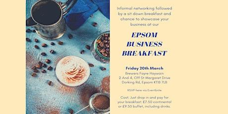 Epsom Business Breakfast tickets