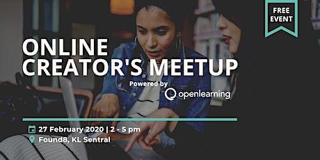 Online Creator's Meetup - Feb 2020 tickets