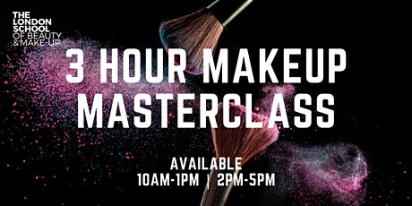 LSBM 3 Hour Makeup Masterclass tickets