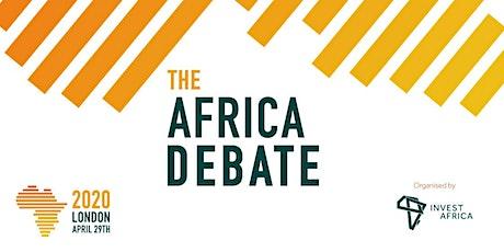 The Africa Debate 2020 tickets