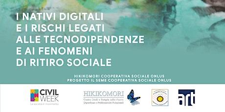 I nativi digitali e i fenomeni di ritiro sociale biglietti