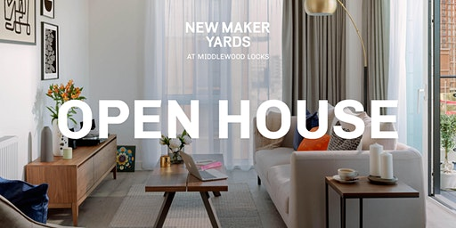 Open House  - New Maker Yards, Middlewood Locks