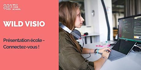 Wild Visio - Présentation école - Connectez-vous !  billets