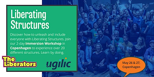 Liberating Structures Immersion Workshop: Unleash a culture of innovation