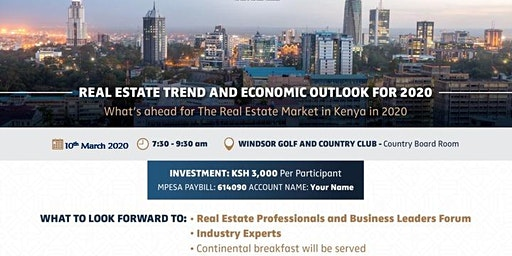 Real Estate Trends and Economic Outlook 2020
