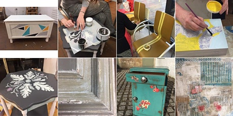 Upcycling Furniture Block of 8 workshops starting 7th May 2020 tickets