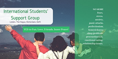 Student Support Group (Leiden) - Week 1: Challenges of living abroad tickets