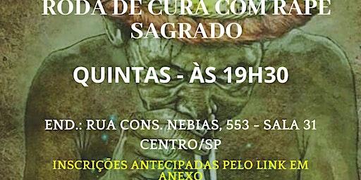 RODA DE CURA COM RAPÉ SAGRADO
