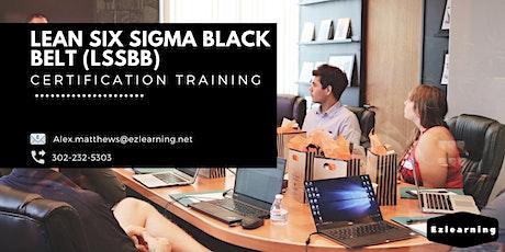 Lean Six Sigma Black Belt  Training in Sainte-Anne-de-Beaupré, PE billets