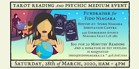 A Tarot Reading & Psychic Medium Fundraiser for Fido Niagara tickets