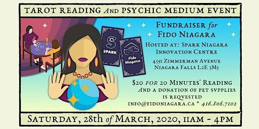 A Tarot Reading & Psychic Medium Fundraiser for Fido Niagara