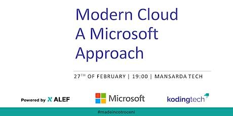 Koding Connect 17 - Modern Cloud: A Microsoft Approach tickets