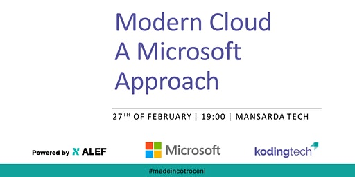 Koding Connect 17 - Modern Cloud: A Microsoft Approach