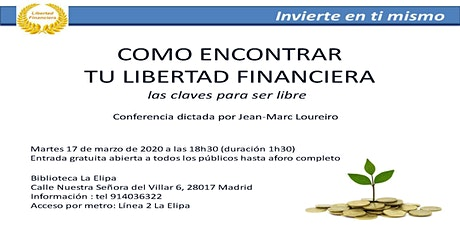 CÓMO ENCONTRAR TU LIBERTAD FINANCIERA tickets
