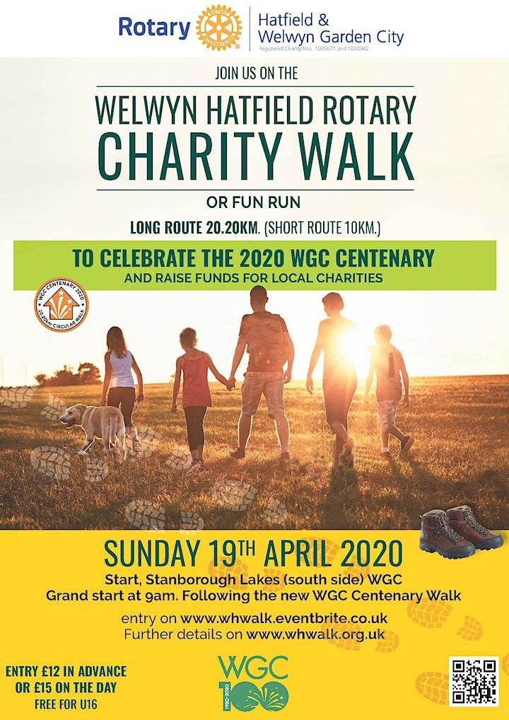 Welwyn Hatfield Rotary Charity Walk round Welwyn G image